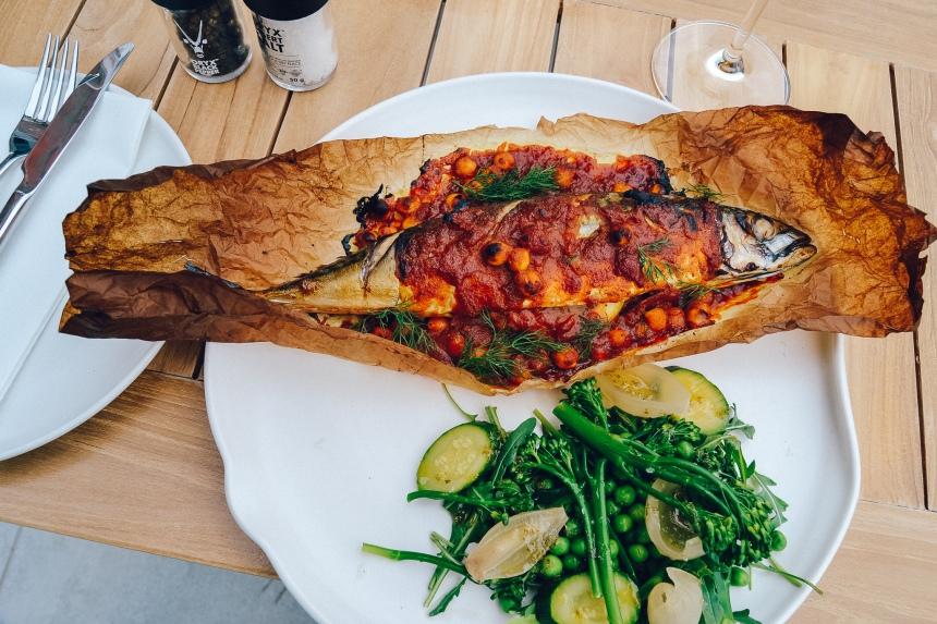 pink valley wines menu main fish