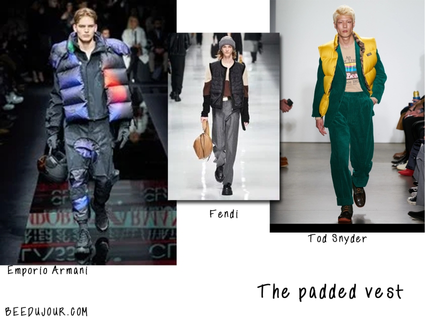 men fashion week 2020 padded jacket