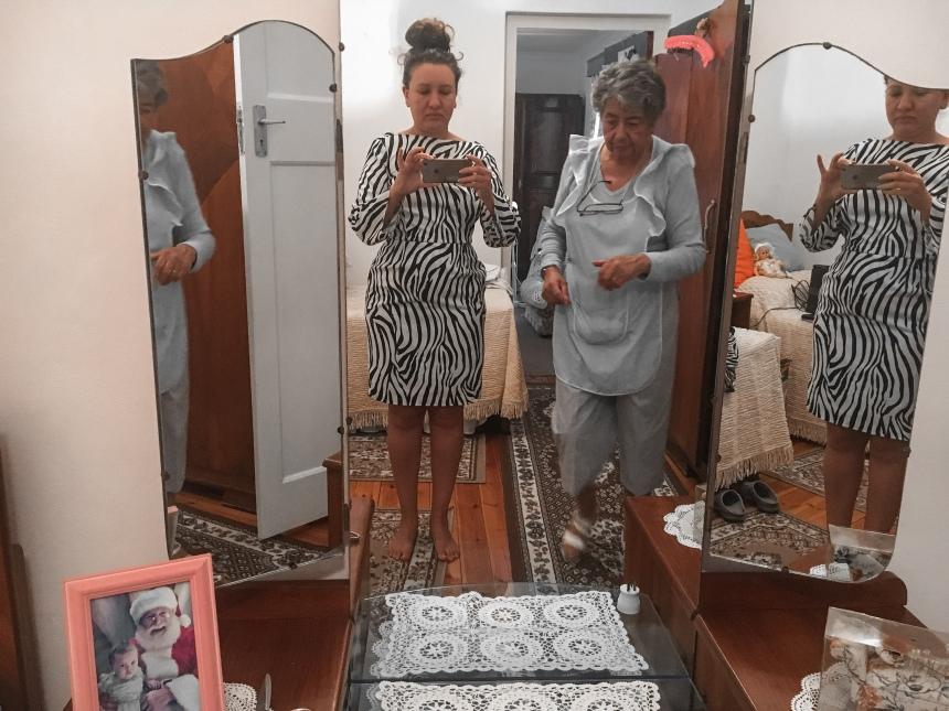 sunmet zeba print dress make